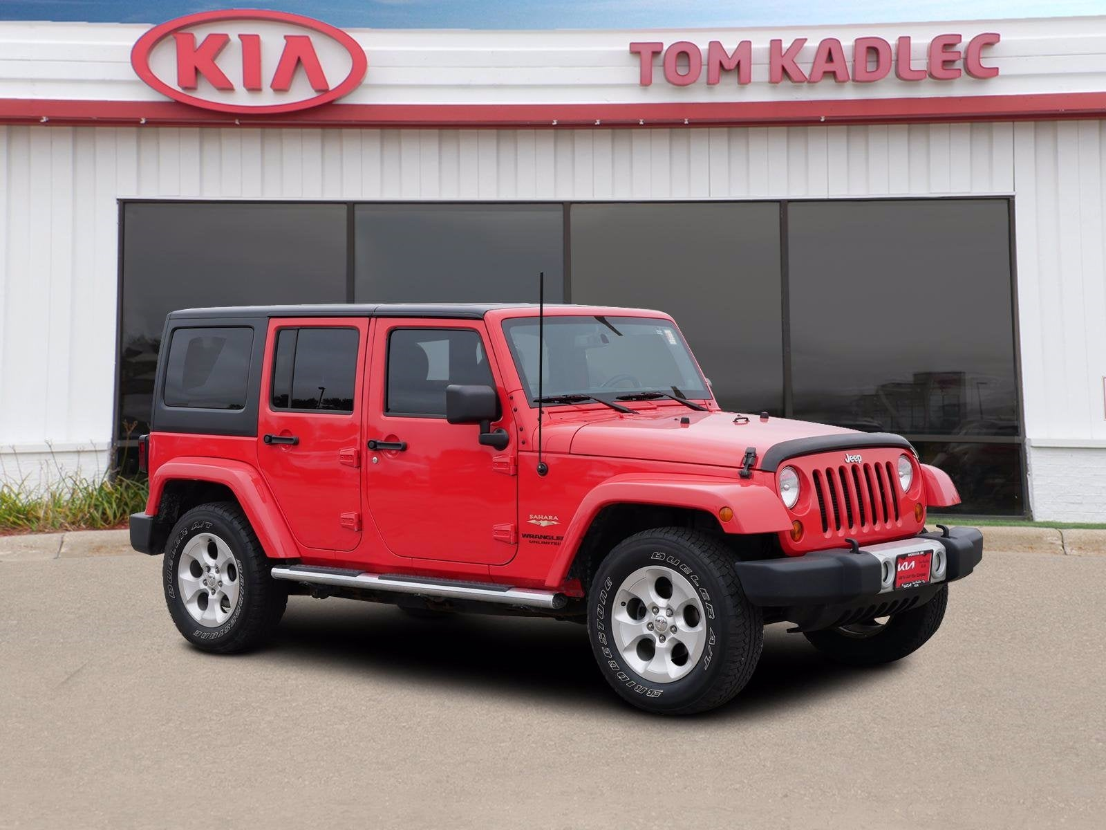 Used 2013 Jeep Wrangler Unlimited Sahara with VIN 1C4BJWEG1DL622707 for sale in Rochester, Minnesota