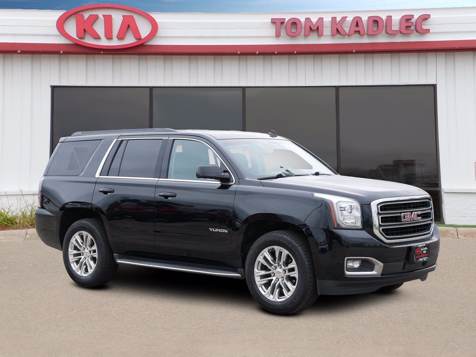 Used 2015 GMC Yukon SLT with VIN 1GKS2BKC1FR277531 for sale in Rochester, Minnesota