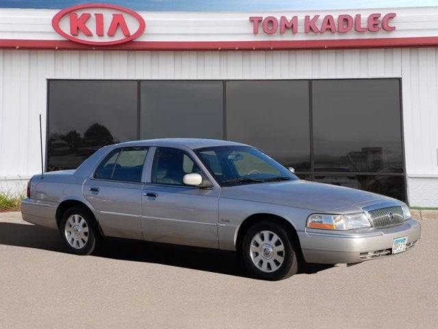 Used 2005 Mercury Grand Marquis LS with VIN 2MEHM75W15X673268 for sale in Rochester, Minnesota