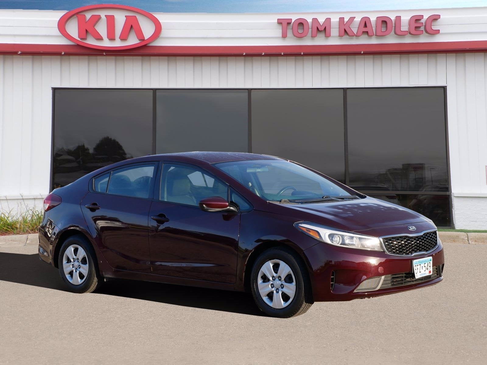 Used 2017 Kia Forte LX with VIN 3KPFK4A70HE022039 for sale in Rochester, Minnesota
