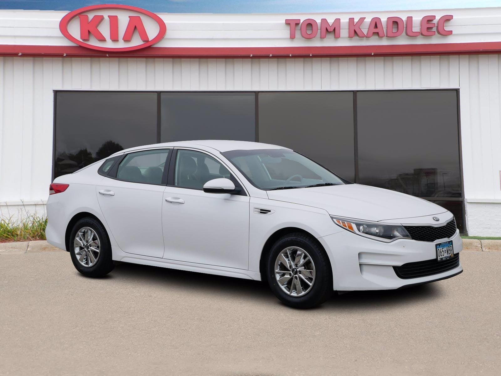 Used 2016 Kia Optima LX with VIN 5XXGT4L3XGG081388 for sale in Rochester, Minnesota
