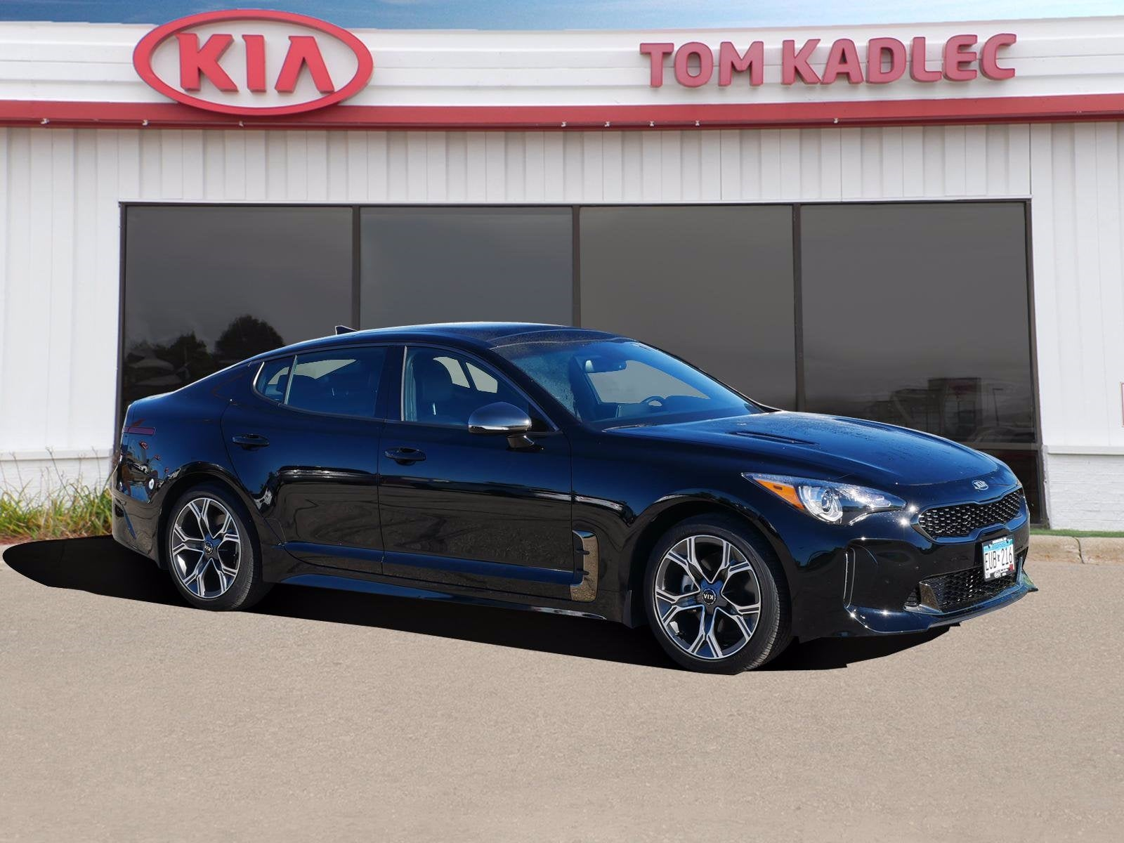 Certified 2020 Kia Stinger GT-Line with VIN KNAE15LA2L6083031 for sale in Rochester, Minnesota