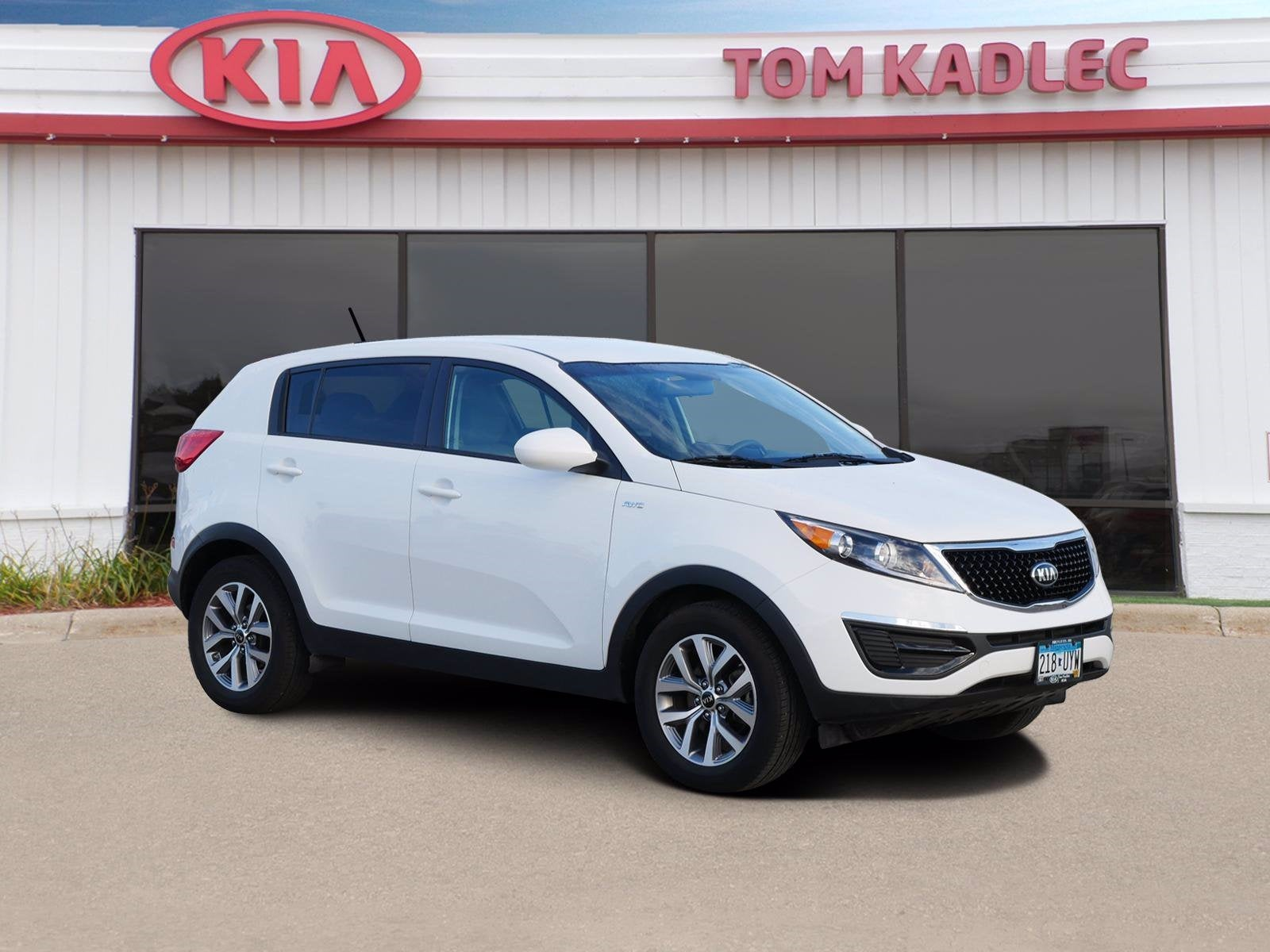 Used 2016 Kia Sportage LX with VIN KNDPBCAC8G7809444 for sale in Rochester, Minnesota