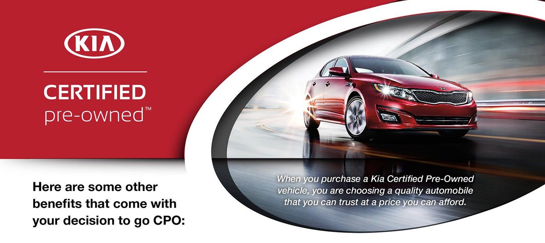 Kia Certified Pre-Owned >> Kia Certified Program